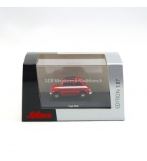 FIAT 500 ROUGE 1:87 SCHUCO