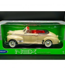 CHEVROLET CABRIOLET SPECIAL DELUXE DE 1941 BEIGE 1:18 WELLY DANS SON BLISTER