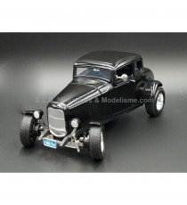 FORD CINQ WINDOW COUPE HOT ROD 1932 NOIRE 1:18 MOTORMAX