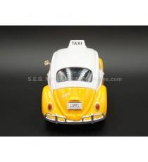 VW VOLKSWAGEN COCCINELLE TAXI 1966 MEXICO 1:24 MOTORMAX VUE ARRIERE