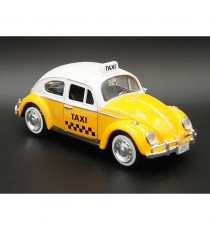 VW VOLKSWAGEN COCCINELLE TAXI 1966 MEXICO 1:24 MOTORMAX