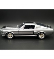 FORD MUSTANG SHELBY GT500 ELEANOR 1967 ( FILM 60 SECONDES CHRONO ) 1:18 GREENLIGHT VUE DE GAUCHE