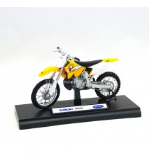 SUZUKI CROSS RM 250cc 1:18 WELLY