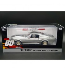 FORD MUSTANG SHELBY GT500 ELEANOR 1967 ( FILM 60 SECONDES CHRONO ) 1:24 GREENLIGHT SOUS BLISTER