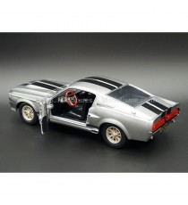 FORD MUSTANG SHELBY GT500 ELEANOR 1967 ( FILM 60 SECONDES CHRONO ) 1:24 GREENLIGHT PORTE OUVERTE