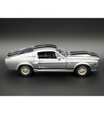 FORD MUSTANG SHELBY GT500 ELEANOR 1967 ( FILM 60 SECONDES CHRONO ) 1:24 GREENLIGHT VUE DE DROITE