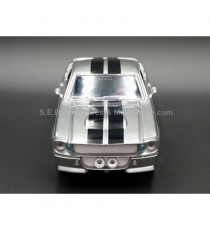 FORD MUSTANG SHELBY GT500 ELEANOR 1967 ( FILM 60 SECONDES CHRONO ) 1:24 GREENLIGHT VUE DE FACE