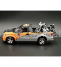 FORD PICK-UP F-150 + HARLEY DAVIDSON FLSTF FAST BOY 1:24-27 MAISTO