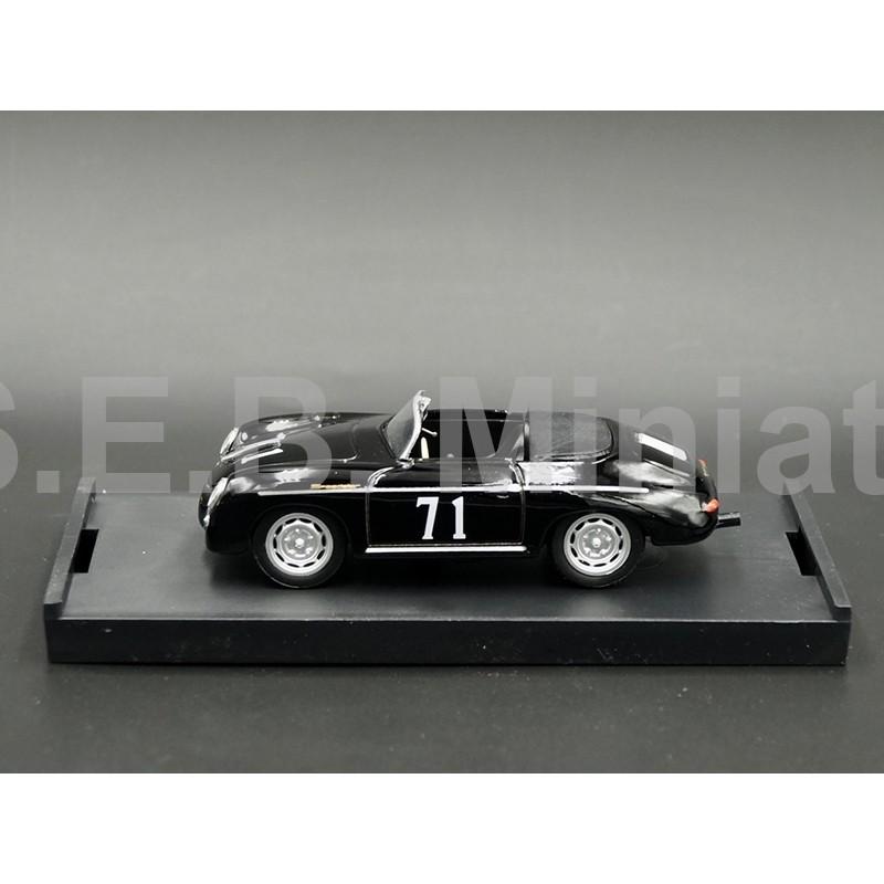 """PORSCHE 356 A SPEEDSTER 1959 N°71 RIVERSIDE """"JAMES DEAN"""" 1:43 BRUMM"""