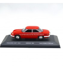 PANHARD 24 BT 1964 ROUGE 1:43 ODEON