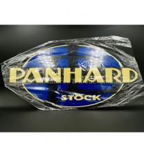 PLAQUE MÉTAL PUBLICITAIRE PANHARD STOCK - ECH 1
