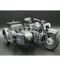 BMW R75 AVEC SIDECAR MILITAIRE 1:10 SCHUCO