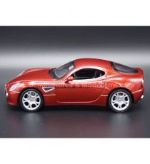 ALFA ROMEO 8C COMPETITION ROUGE METALLISE 1:24 WELLY