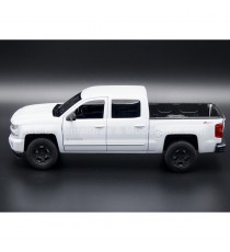 CHEVROLET SILVERADO ZZ1 PICK-UP 2017 BLANC 1:24-27 WELLY