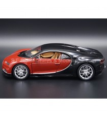 BUGATTI CHIRON 2016 ROUGE / NOIR 1:24 WELLY