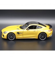 MERCEDES AMG GTR JAUNE METALLISE 1:24 WELLY