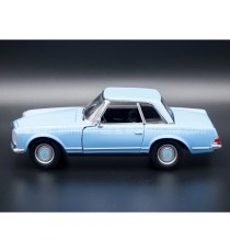 MERCEDES 230 SL DE 1963 W113 BLEU 1:24 WELLY