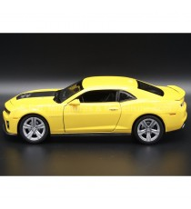 CHEVROLET CAMARO ZL1 DE 2012 JAUNE 1:24 WELLY