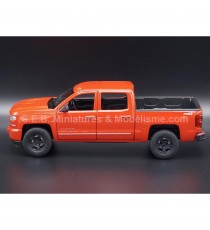 CHEVROLET SILVERADO ZZ1 PICK-UP 2017 ROUGE 1:24-27 WELLY
