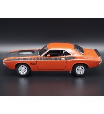DODGE CHALLENGER T/A 1970 ORANGE/NOIR 1:24 WELLY