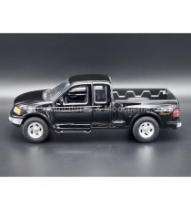 FORD F-150 FLARESIDE SUPPERCAB NOIR DE 1999 1:24 WELLY