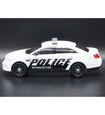 FORD INTERCEPTOR POLICE USA BLANCHE 1:24 WELLY