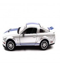 FORD MUSTANG GT 500 SHELBY DE 2007 GRISE 1:24 LUCKY DIE CAST