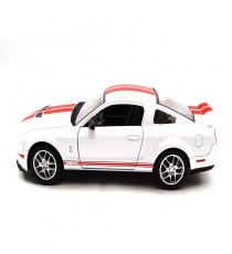 FORD MUSTANG GT 500 SHELBY DE 2007 BLANCHE 1:24 LUCKY DIE CAST