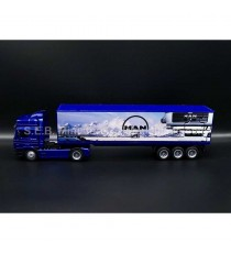 MAN F2000 40 CONTAINER BLEU 1:43 NEW RAY