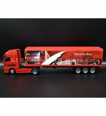 MERCEDES ACTROS 1857 40 CONTAINER ROUGE 1:43 NEW RAY