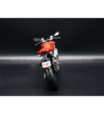 DUCATI STREETFIGHTER S ROUGE 1:12 MAISTO FACE ARRIERE