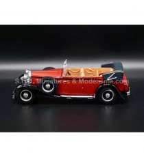 MAYBACH DS 8 ZEPPELIN CABRIOLET 1930 ROUGE 1/43 WHITEBOX