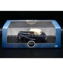 JAGUAR MK V 3,5L DHC 1950 CONVERTIBLE BLEU FONCE 1:43 OXFORD SOUS BLISTER