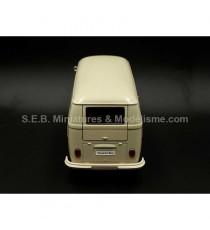 VW VOLKSWAGEN T1 FOURGON 1963 BEIGE CLAIR 1:24 WELLY vue arrière