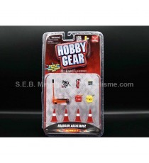 SET OUTILS ROAD SIDE ASSISTANCE 1:24 HOBBY GEAR