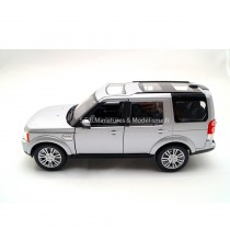 LAND ROVER DISCOVERY 4 DE 2010 GRIS ARGENT 1:24 WELLY