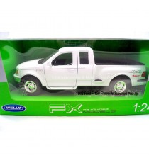 FORD F-150 REGULAR CAB FLARESIDE PICK UP DE 1999 BLANC 1:24 WELLY