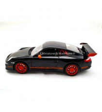 PORSCHE 911 GT3 RS 997 NOIR/ORANGE 1:24 WELLY