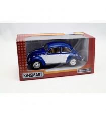 VW VOLKSWAGEN COCCINELLE 1967 BLEU/BLANC 1:24 KINSMART