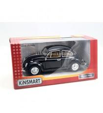 VW VOLKSWAGEN COCCINELLE NOIR 1967 - 1:24 KINSMART
