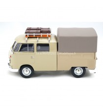 VW VOLKSWAGEN COMBI T1 TYPE II PICK-UP MARRON 1:24 MOTORMAX côté gauche