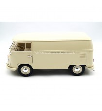VW VOLKSWAGEN T1 FOURGON 1963 BEIGE CLAIR 1:18 WELLY