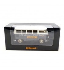 VW T1 BUS CONTINENTAL GRIS 1962 VOLKSWAGEN 1:24 WELLY