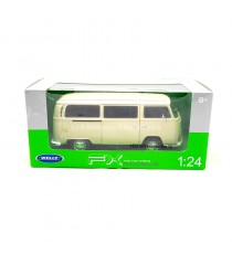 VW COMBI T2 1972 CREME 1:24 WELLY