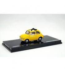 FIAT 500 F 1965 SÉRIE LIMITÉE N°640 JAUNE 1:43 VITESSE côté gauche