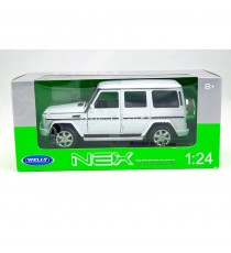 MERCEDES-BENZ CLASS G V8 DE 2009 BLANC 1:24 WELLY