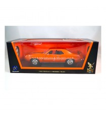 PONTIAC FIREBIRD TRANS-AM 1969 ORANGE 1:18 LUCKY DIE CAST