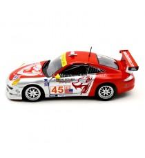 PORSCHE 911 (997) GT3 RSR N°45 1MSA FLYING LISARD MOTORSPORT ALMS DE 2007 -1:24 BURAGO