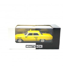 FORD GALAXIE 500 TAXI NEW YORK YELLOW CAB CO EDITION LIMITÉE 1000 pcs 1:43 WHITEBOX DANS SA BOÎTE