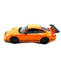 PORSCHE 911 GT3 RS 997 ORANGE 2007 - 1:18 WELLY